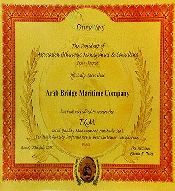 Arab Bridge Maritime - Jordan - Egypt - Iraq